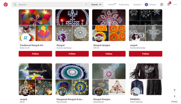 Rangoli on Pinterest